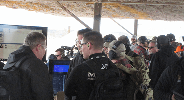 Shooting Bays - Industry day at the Range 2020 SHOT show