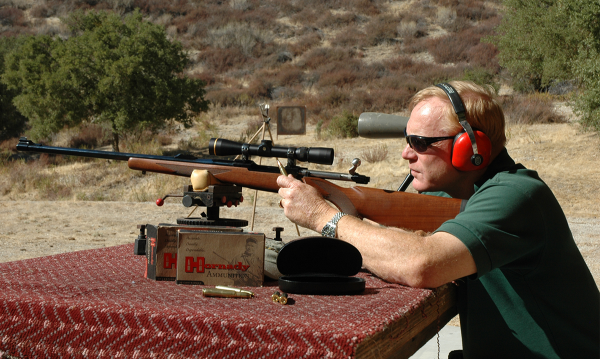 Hornady on the Rifle Range