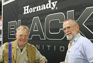 Hornady and Boddington at SHOT Show booth