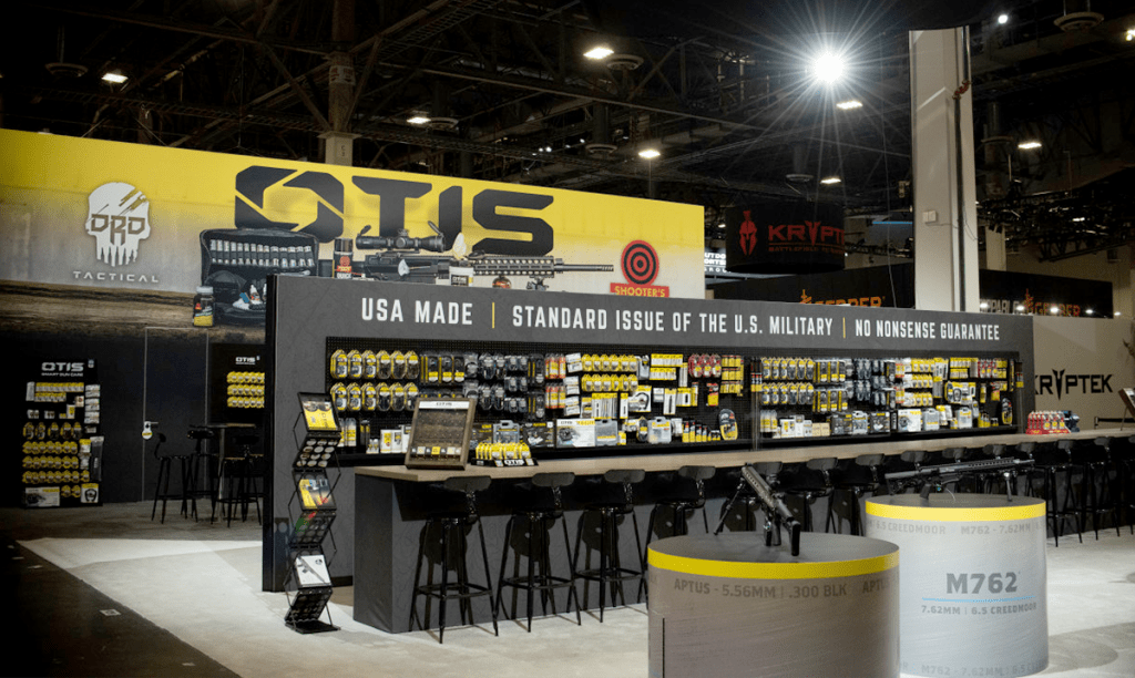 SHOT Show OTIS Booth