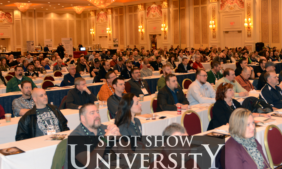 Doug VanderWoude - SHOT Show University - Firearms range