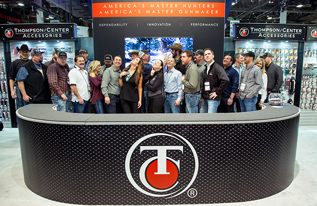 Thompson/Center SHOT Show Booth