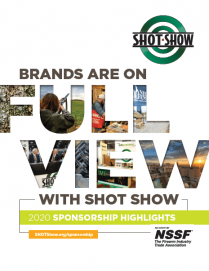 Cover of the SHOT Show 2020 Sponsorship Highlights Report
